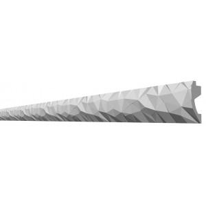 Потолочный плинтус с рисунком ДП 19/120