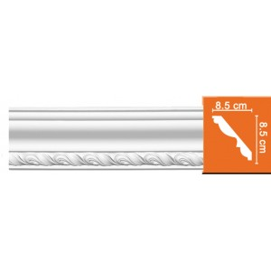 95779* 18 FLEXIBLE плинтус из полиуретана