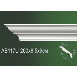 Карниз полиуретановый AB117U