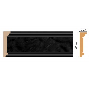 Карниз потолочный DECOMASTER D216-195 (60*17*2400)