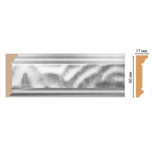 Карниз потолочный DECOMASTER D216-375 (60*17*2400)