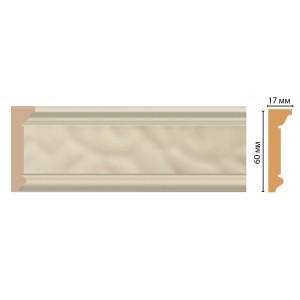 Карниз потолочный DECOMASTER D216-61 (60*17*2400)