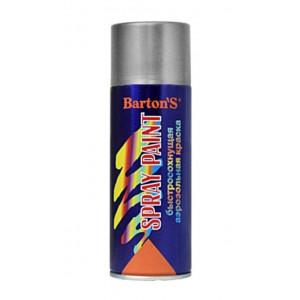 Краска аэрозольная Barton'S Spray Paint Серебро