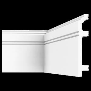 Плинтус напольный из дюрополимера П12 120-22