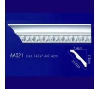 потолочный плинтус с орнаментом AA021