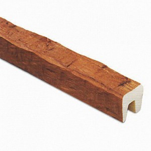 Декоративная балка Рустик (дуб светлый) 120х120х3000