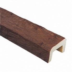 Декоративная балка Рустик (дуб темный) 200х130х4000