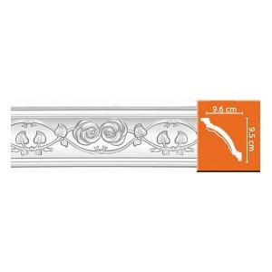 95602 потолочный плинтус с орнаментом DECOMASTER