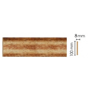 Цветная лепнина панель В10-126
