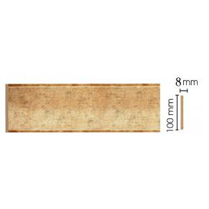 Цветная лепнина панель В10-552