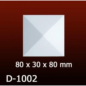 Дверной декор D1002(80*30*80) OptimalDecor