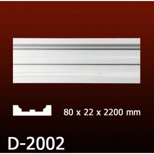 Дверной декор D2002(80*22*2200) OptimalDecor