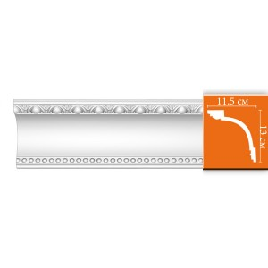 DT-88107 плинтус из полиуретана
