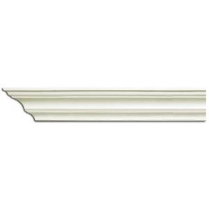 Плинтус потолочный с гладким профилем K1221