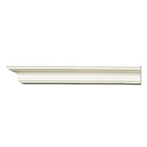 Плинтус потолочный с гладким профилем K211