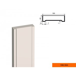 Пилястра ПЛВ - 150/4 (тело)