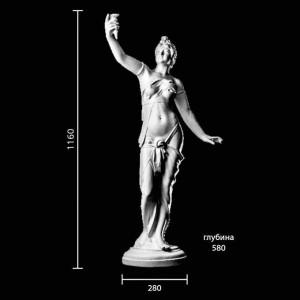 Статуя Девушка с факелом ST-001
