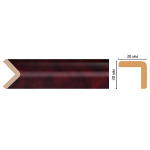 Цветной угол  D134-62 (30*30*2400)