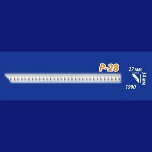 Плинтус потолочный инжекционный Kenopol Р28
