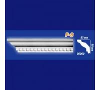 Плинтус потолочный инжекционный Kenopol Р8