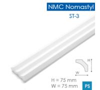 Потолочный плинтус из пенопласта NMC Nomastyl ST3