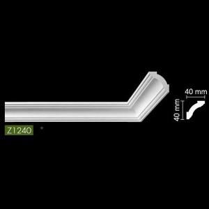 Гладкий потолочный профиль Z1240