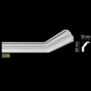 Гладкий потолочный профиль Z18