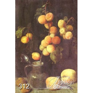 Фреска натюрморт фр0312