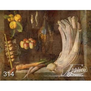 Фреска натюрморт фр0314