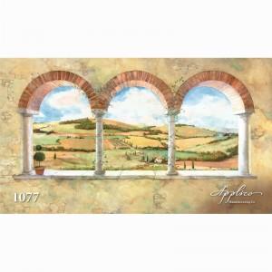 Фреска классический пейзаж фр1077