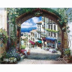 Фреска классический пейзаж фр1092