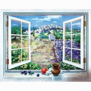 Фреска классический пейзаж фр1093