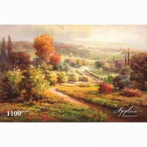 Фреска классический пейзаж фр1100