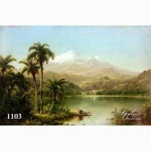 Фреска классический пейзаж фр1103