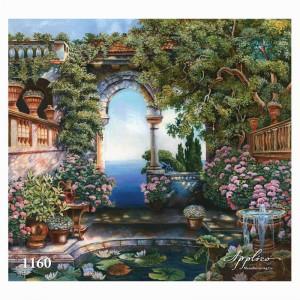 Фреска классический пейзаж фр1160