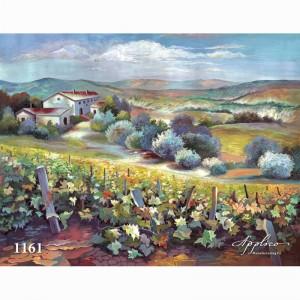 Фреска классический пейзаж фр1161