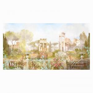Фреска классический пейзаж фр1167