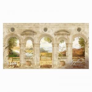Фреска классический пейзаж фр1169