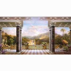 Фреска классический пейзаж фр1172