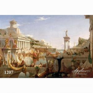 Фреска классический пейзаж фр1207