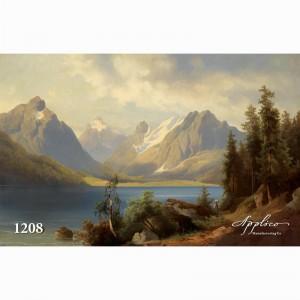 Фреска классический пейзаж фр1208