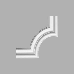 Угловой элемент к молдингу Decomaster 97200-1/40 (225x225мм)