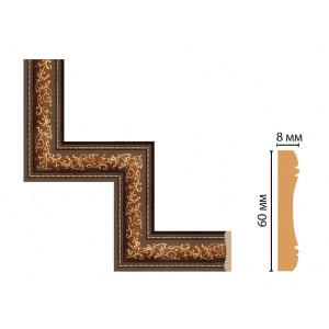 Декоративный угловой элемент 186-1-51 (300*300)