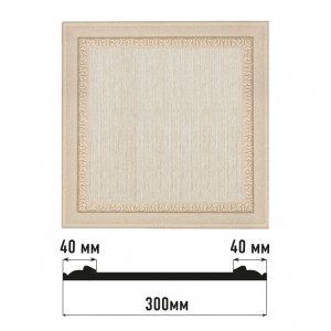 Декоративная панно D30-18D (300*300)