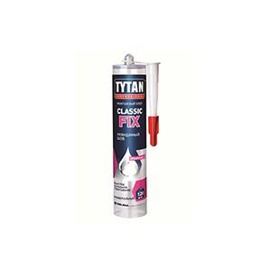 Клей монтажный Classic Fix прозрачный (Tytan) 310мл