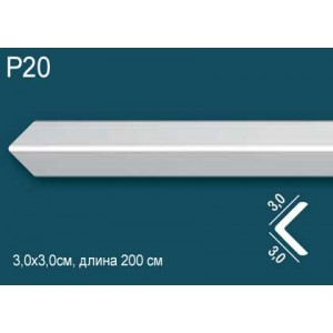 Карниз потолочный дюрополимер P20