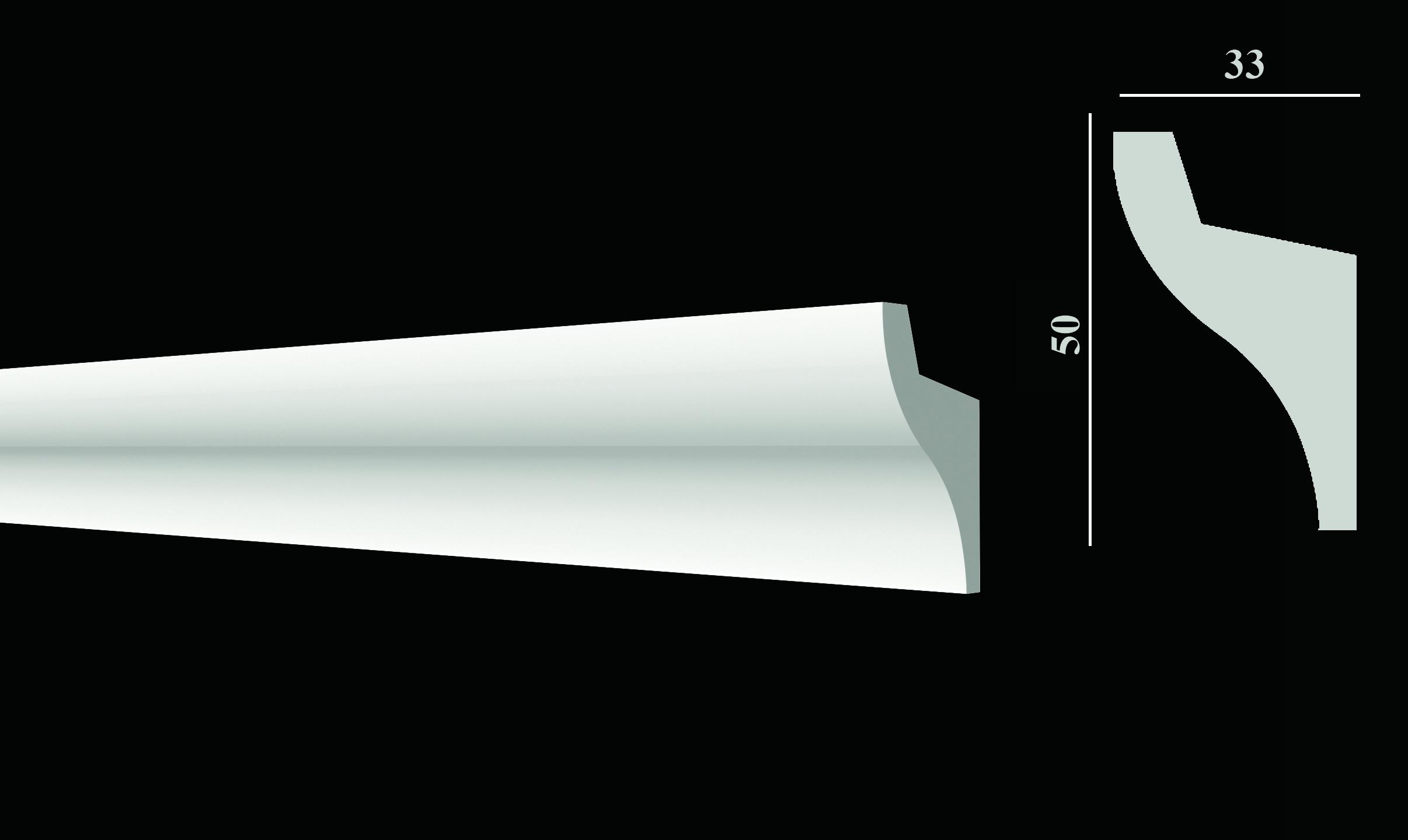DD506 Карниз потолочный