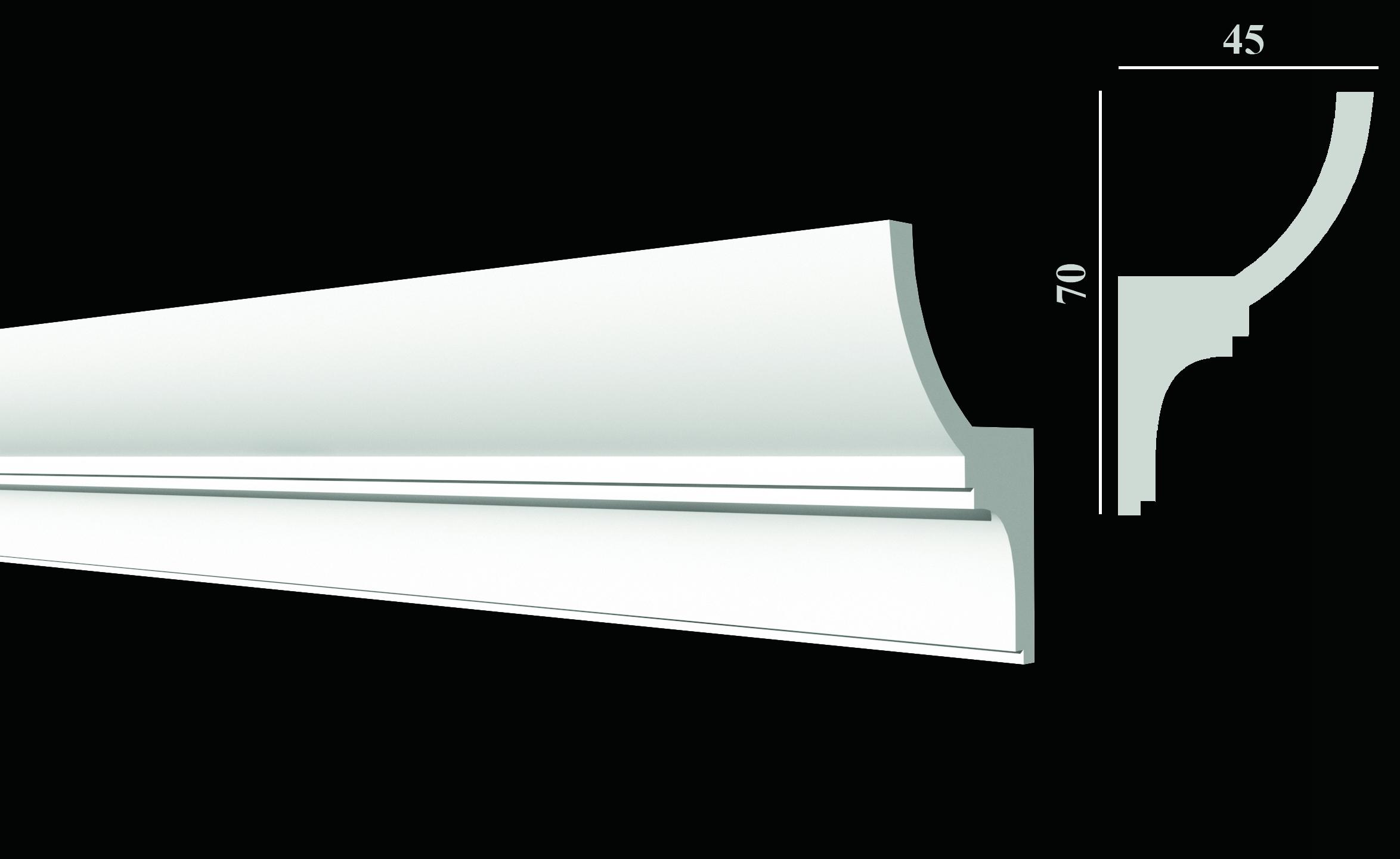 DD508 Карниз потолочный