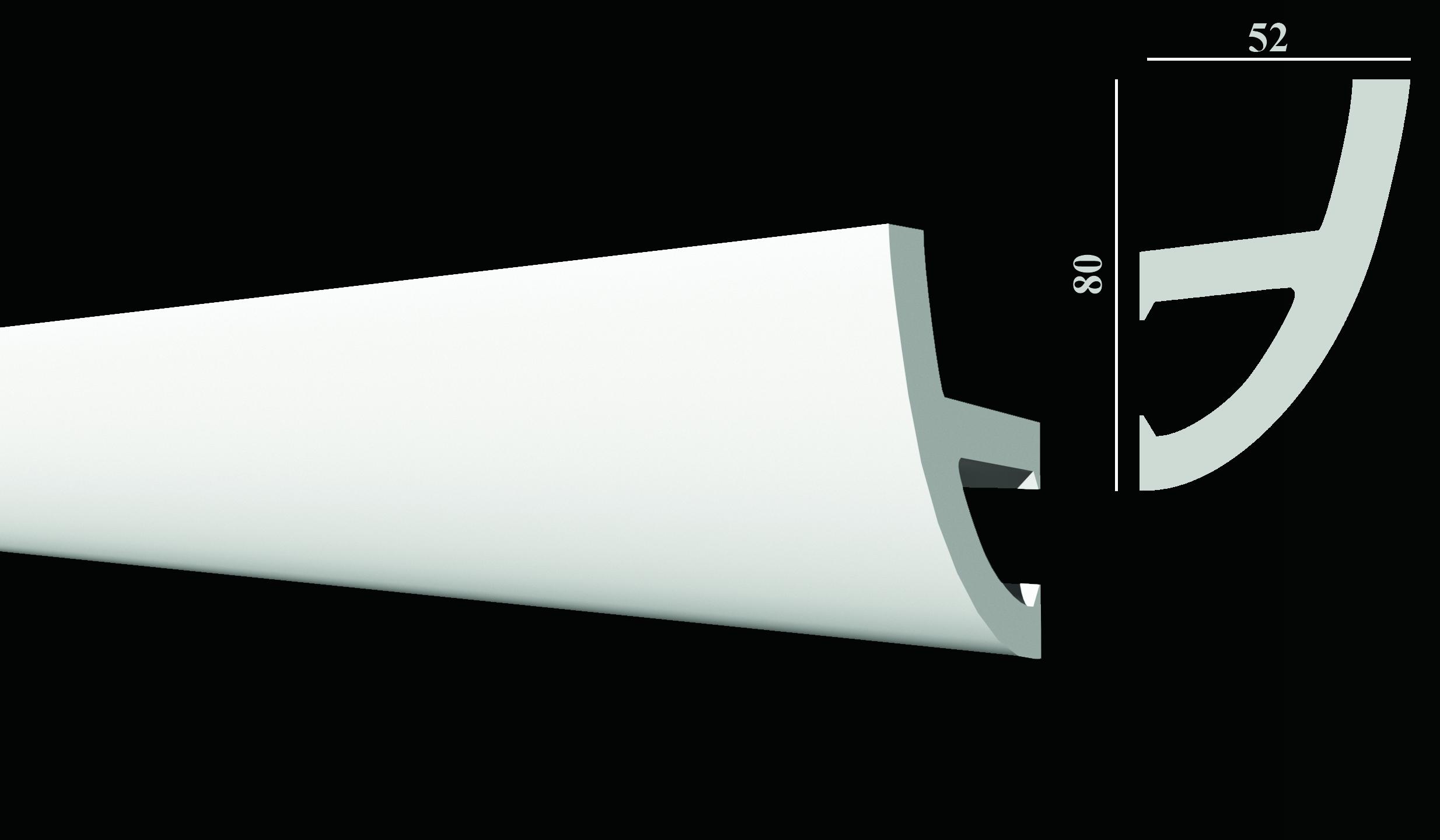 DD510 Карниз потолочный