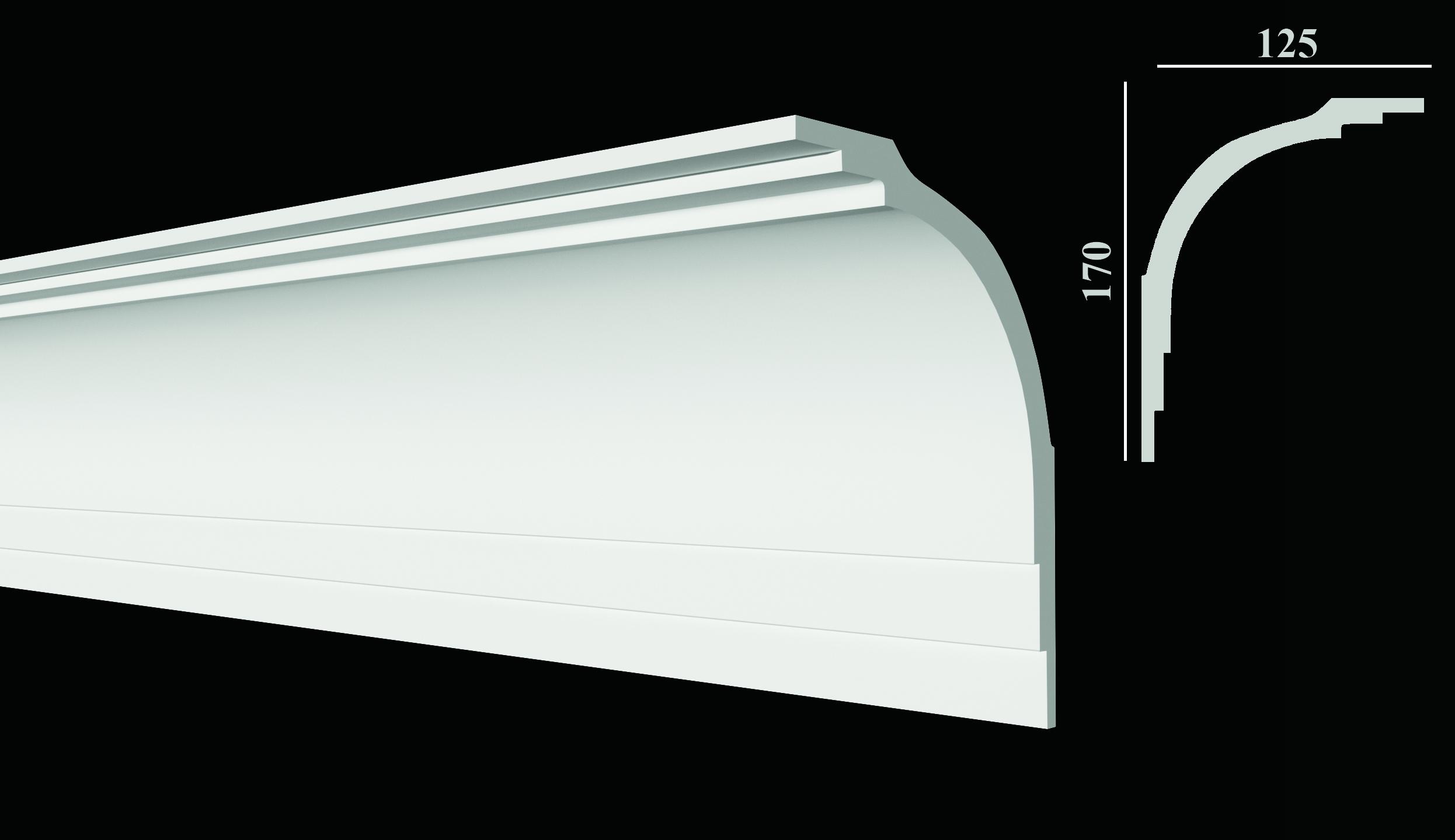 DD511 Карниз потолочный